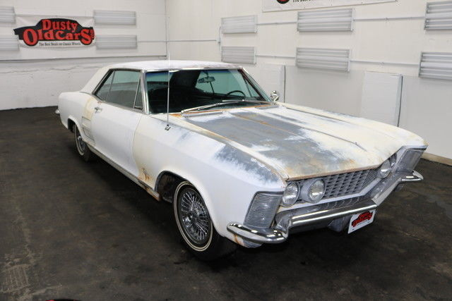 1964 Buick Riviera 455 CI V8 3 spd auto Body Inter Good Riv Project