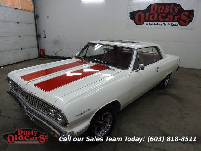 1964 Chevrolet Malibu Runs Drives Body Inter VGood 327V8 3spd