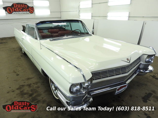 1964 Cadillac DeVille Runs Yard Drives Body Inter Good 429V8 3spd auto