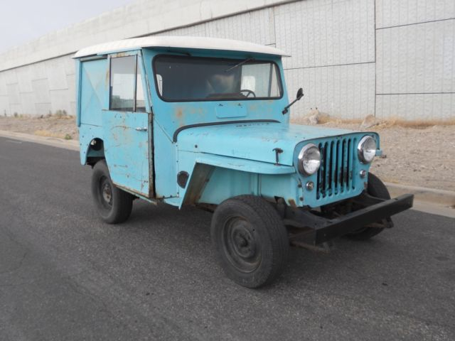 1964 Willys Dj 3a Dispatcher Jeep For Sale Photos Technical