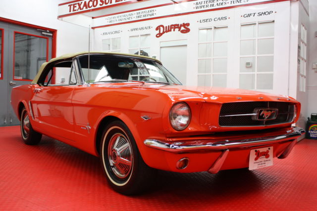 1964 5 ford mustang convertible 260 v8 with 3spd manual 1964 1 2 for sale photos technical. Black Bedroom Furniture Sets. Home Design Ideas