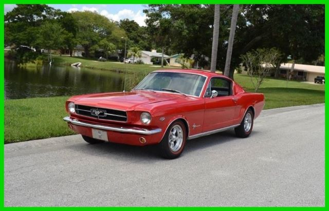 1965 Ford Mustang 1965 Ford Mustang Fastback 2+2 289 v8 4-Speed