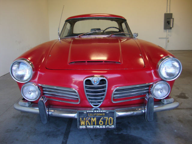 1965 alfa romeo 2600 touring spider for sale photos. Black Bedroom Furniture Sets. Home Design Ideas