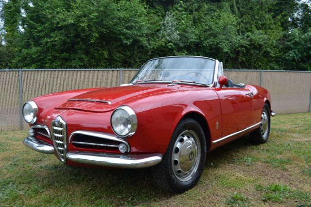 1965 alfa romeo giulia spider photo documented restoration 1600 veloce upgrades 1 alfa romeo 1967 gt giulia veloce 1600 cc for sale photos  at bakdesigns.co