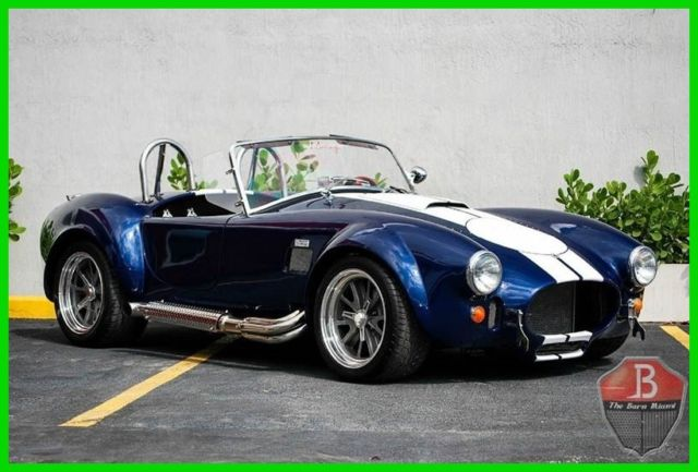 1965 Shelby Cobra BACKDRAFT RACING HIGH-END BUILD 1965 SHELBY COBRA