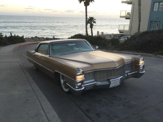 1965 Cadillac Deville For Sale: 1965 Bagged Cadillac Sedan DeVille Rat Rod For Sale