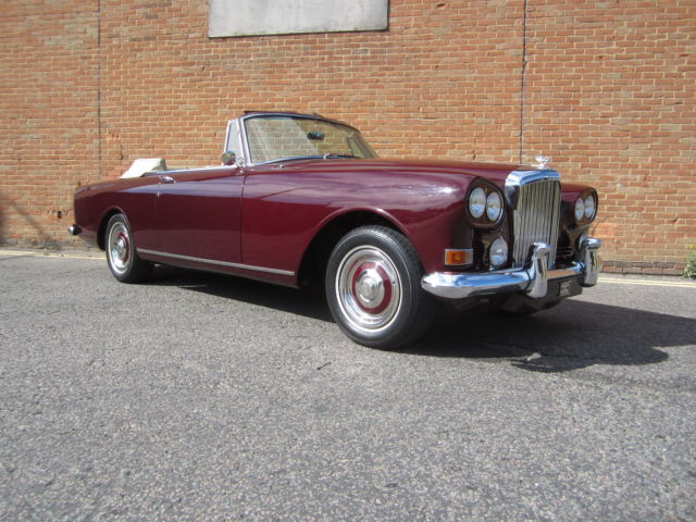 1965 Bentley Other S3 Continental Convertible By Mulliner Park Ward
