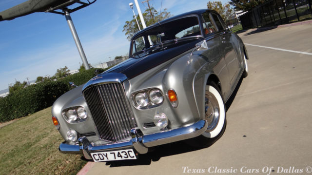 1965 Dark Gray/Silver Bentley Other S3 Sedan with Red interior
