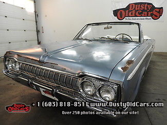 1965 Dodge Polara Runs Drives Body Interior VGood Cool Retro Ride