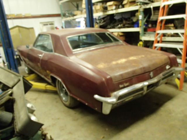 1965 Buick Riviera Gran Sport Number Matching Super Wildcat Dual Quad Barn Find For Sale Photos