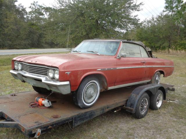 1965 Buick Skylark Convertible parts car for sale: photos