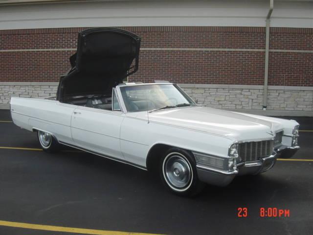 1965 Cadillac Convertible Coupe Deville For Sale Photos Technical