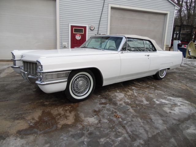 1965 Cadillac Coupe Deville Convertible Real Clean For Sale Photos