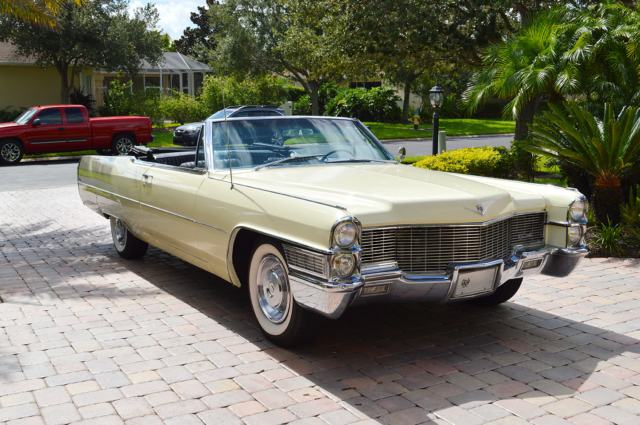 1965 Cadillac Deville 1965 Cadillac Deville Convertible Numbers