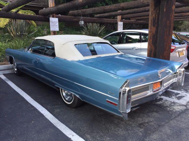 1965 Cadillac Deville For Sale: 1965 CADILLAC DEVILLE CONVERTIBLE CALIFORNIA CAR For Sale