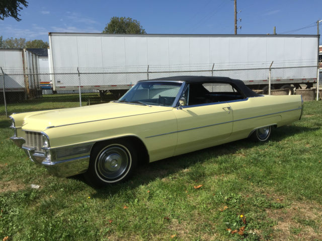 1965 Cadillac Deville Convertible Stunning Original Condition Call
