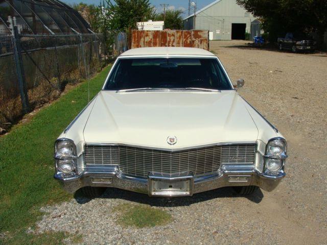 1965 Cadillac Fleetwood Brougham 79k Original Miles Very