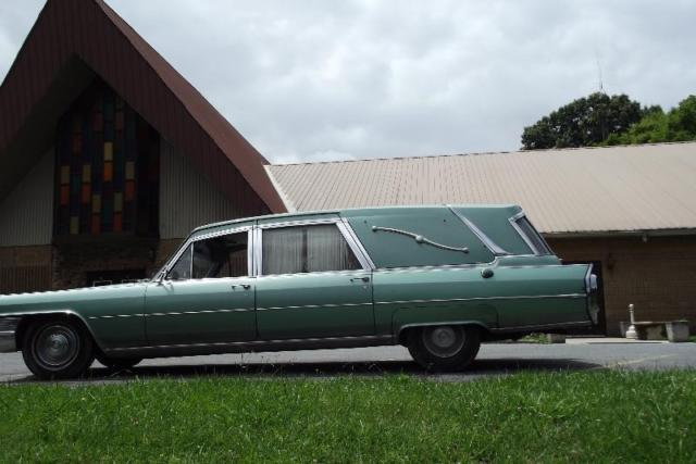 1965 Cadillac Fleetwood Hearse Ambulance Combination for