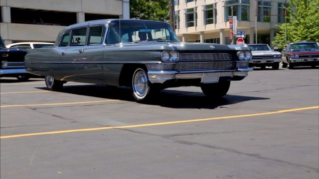 1965 Cadillac Fleetwood Shadow Gray Fleetwood Working A/C