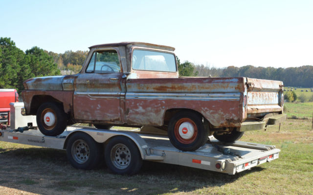 1965 Chevrolet C-10 CUSTOM CAB SWB W/BIG BACK WINDOW