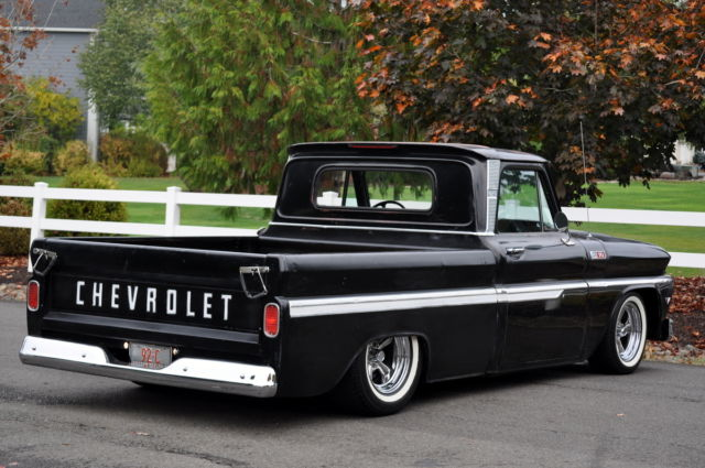 1965 chevrolet c10 pickup bagged air ride chevy truck hot rat rod new wood bed for sale photos. Black Bedroom Furniture Sets. Home Design Ideas