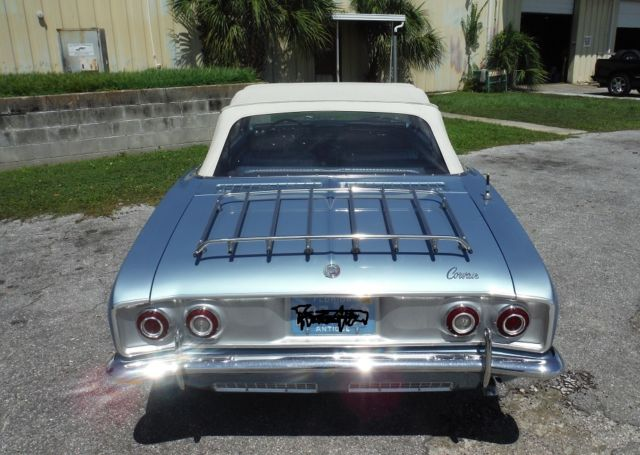 1965 Chevrolet Corvair Corsa Turbo Convertible For Sale