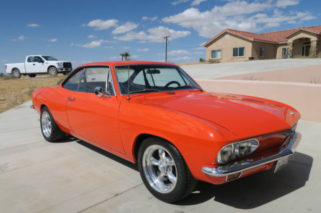 1965 Chevrolet Corvair CORVAIR MONZA SPORT COUPE 164-140 4 SPEED