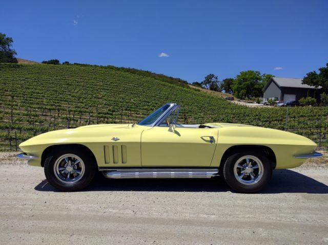 1965 Chevrolet Corvette Convertible with side pipes