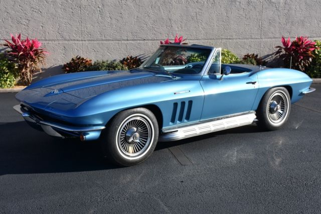 1965 Chevrolet Corvette Fuel Injected 327Ci 375HP 4 Speed 1 of 771 built