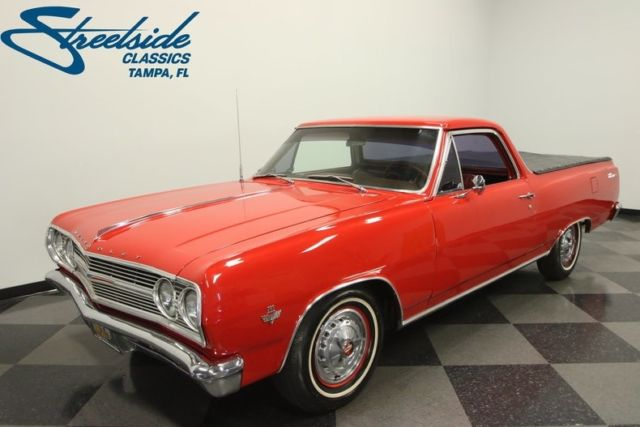 1965 Chevrolet El Camino  20819 Miles Regal Red Pickup Truck 350 V8 Crate 3 Spee