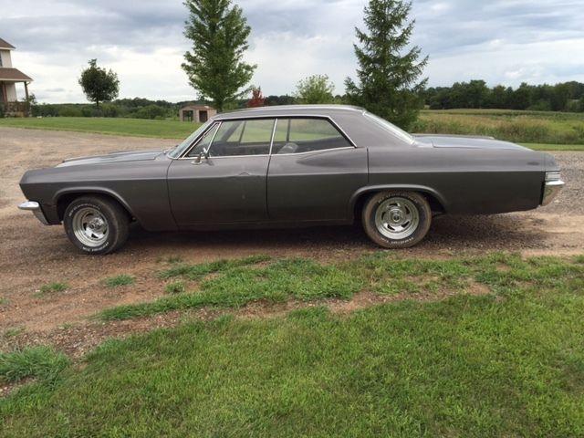 1965 chevrolet impala 4 door hardtop  no post between