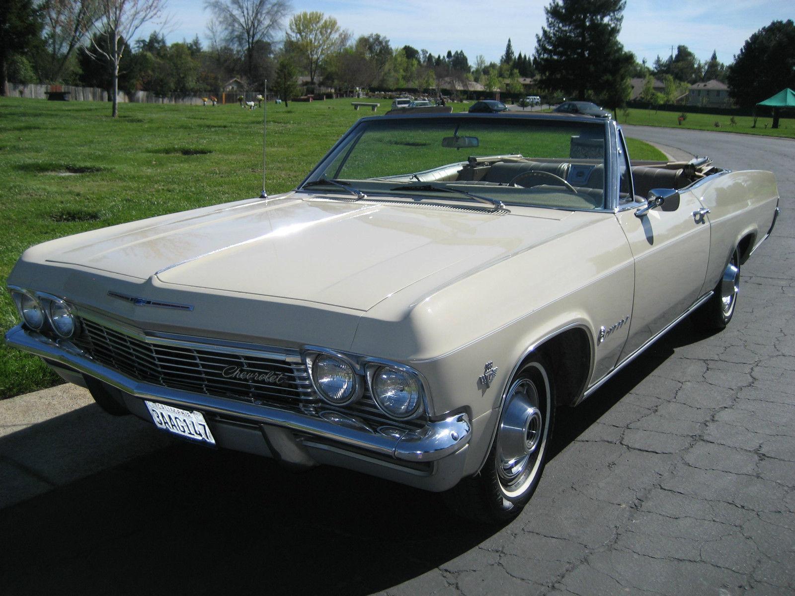 1965 chevrolet impala convertible for sale photos technical. Black Bedroom Furniture Sets. Home Design Ideas