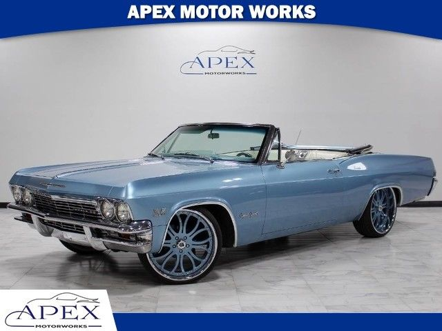 1965 Chevrolet Impala Convertible 396 Highly-Optioned Asanti Wheels