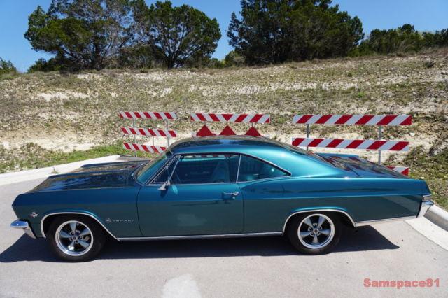 1965 Chevrolet Impala Tahitian Turquoise Sport Coupe