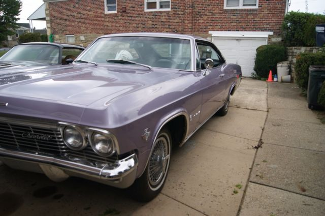 1965 Chevrolet Impala Two Door Sport Coupe Evening Orchid