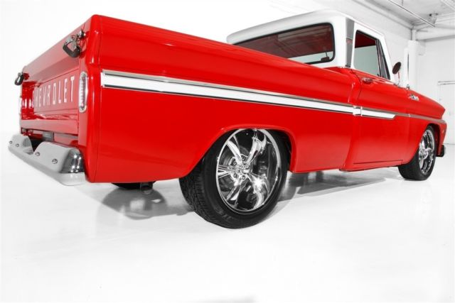 1965 Chevrolet Pickup Red C10 frame-Off LS1 Auto
