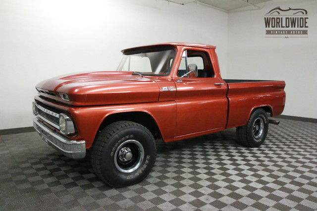 1965 Chevrolet PICKUP RESTORED 4X4 SHORTBED! RARE AND GORGEOUS!