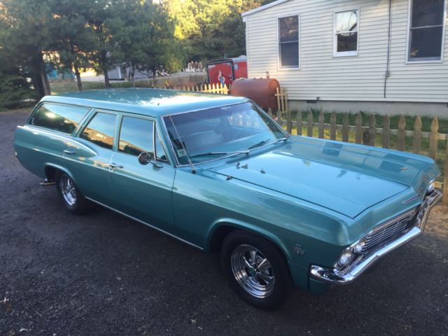 1965 Chevrolet Impala 1965 CHEVY BISCAYNE WAGON NR 283 AUTO GREAT DRIVER