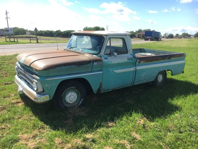 1965 chevy c 10 pick up rat rod original truck 305 for for 305 chevy motor for sale