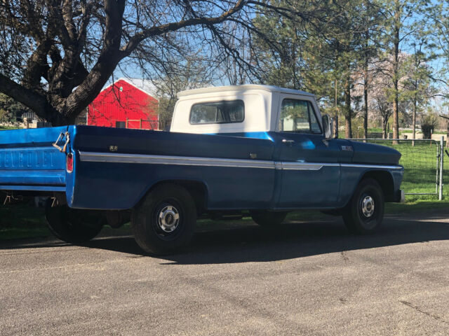 1965 chevy c10 truck  Time capsule , no rus solid ,   watch video