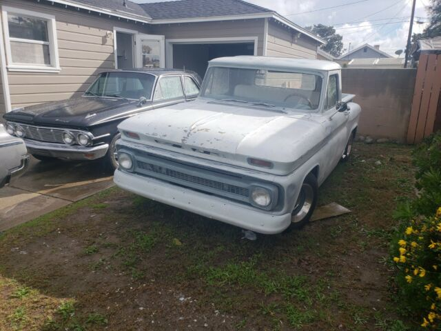 1965 Chevy C 10 With 5 3 Vortec Engine Swap