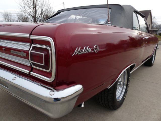 1965 Chevy Chevelle Malibu SS clone Convertible 327/350hp 4 speed