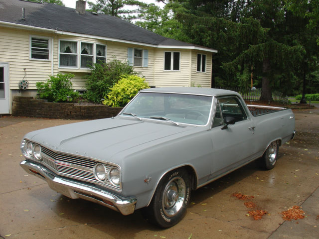 1965 chevy el camino runs drives good solid project car for sale photos technical. Black Bedroom Furniture Sets. Home Design Ideas