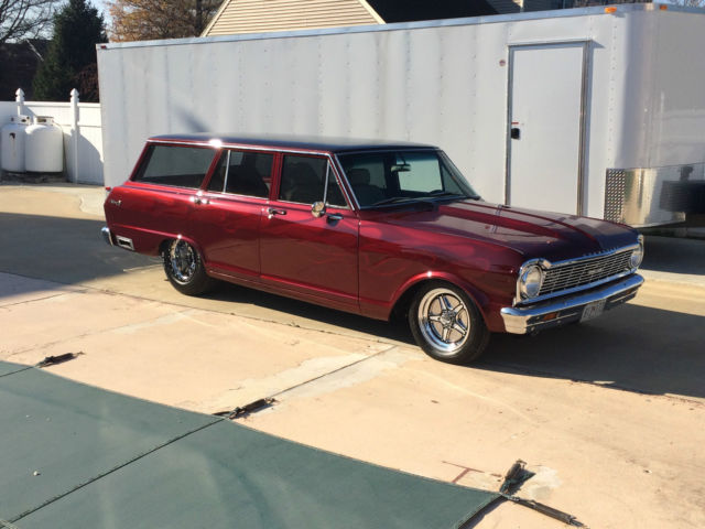 1965 chevy ii nova wagon for sale photos technical specifications description. Black Bedroom Furniture Sets. Home Design Ideas