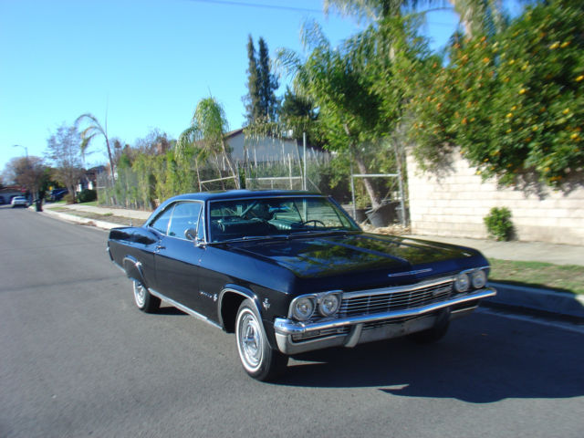 1965 chevy impala coupe black on black 1966 1964 1953 1962 1967 for sale photos technical. Black Bedroom Furniture Sets. Home Design Ideas