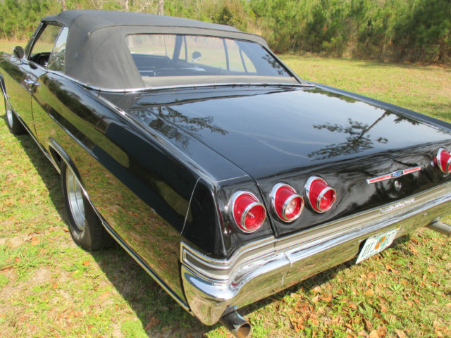 1965 CHEVY IMPALA SS 396 4SPEED CONVERTIBLE for sale photos
