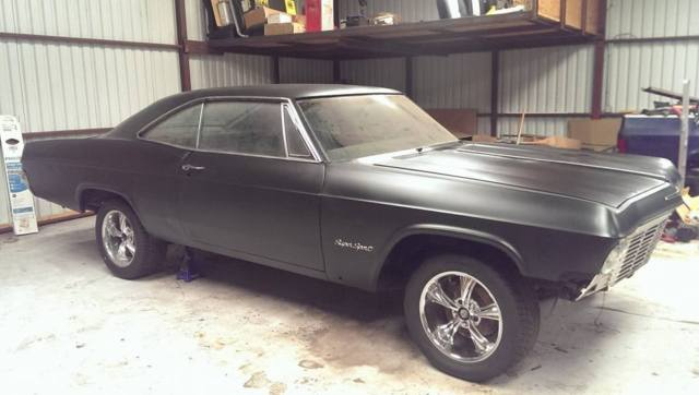 1965 chevy impala ss project for sale photos technical. Black Bedroom Furniture Sets. Home Design Ideas