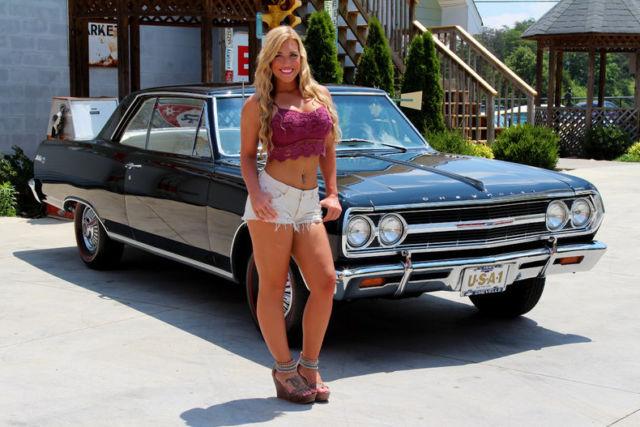 1965 Chevy Malibu Ss 327 L79 Free Shipping 4 Speed 12 Bolt