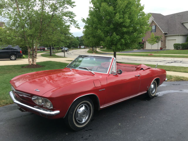 1965 Chevrolet Corvair 140 Convertible Corsa