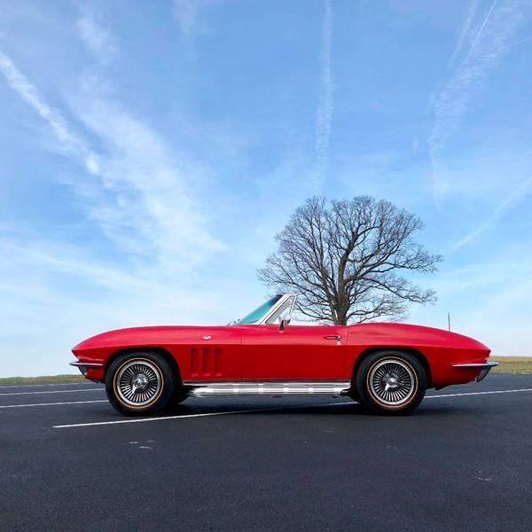 1965 Chevrolet Corvette OlderResto*RareRed/White*#Matching300hp*4spd*